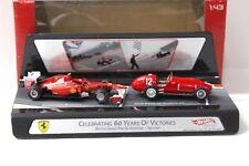 1:43 HotWheels Ferrari Celebrating 60 Years of Victories New chez Premium-modelca