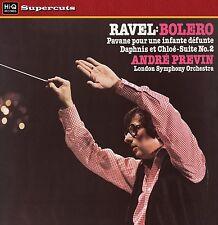 LONDON SYMPHONY ORCHESTRA/PREVIN - Ravel/Bolero/Daphnis et Chloe. New LP sealed