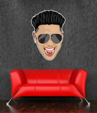 Pauly D Huge Wall Decal Jersey Shore GTL Prank War Champion 24 in Room Decor