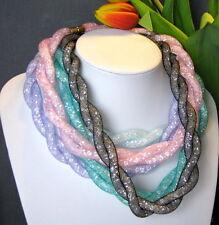 Ausdrucksstarke Modeschmuck-Halsketten & -Anhänger aus Kristall mit Besondere Anlässe