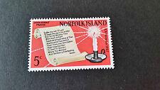 NORFOLK ISLAND 1967 SG 92 CHRISTMAS MNH