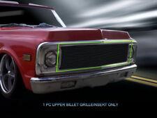 69-72 Chevy Suburban/Blazer/C/K Pickup Black Billet Grille Grill Insert Fedar