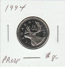 Canada 1994 25 Cents Proof
