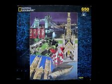 NEW Factory Sealed National Geographic 650 Pc Puzzle of England ~ English Sights