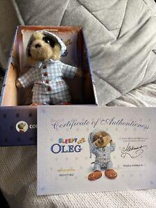 Sleepy Oleg Toy Compare The Market / Meerkat With Certificate New In Box Ltd Ed