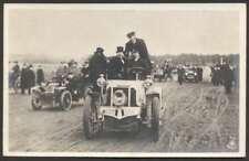 R Photo Very Old Automobiles Racing Car 1910 Postcard