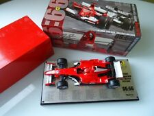 Ferrari F1 Hotwheels 1:18 66:66-model Limited Ed. Michael Schumacher 66 Pole Pos