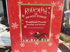 Rudolph the Red Nosed Reindeer Woodland Puzzle by Roman Brand New in Box!