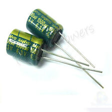 10 x 1500uF 6.3V Radial Electrolytic Capacitor 10x12 mm