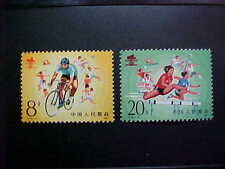 CHINA PRC Sct # 2005-6 National Worker's games MNH