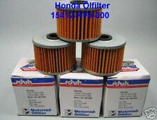 3 pièces-Filtre à huile HONDA NX 650 Dominator, nx650, rd02, rd08, xr 600, xr 650, xl