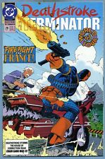 Deathstroke The Terminator #28 1993 Mike Zeck DC Comics