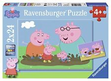 Ravensburger Puzzle 2 fois 24 Pièces Heureux vie de famille