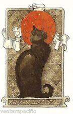 Cat [Art Nouveau] : Théophile Steinlen : circa 1896 :  Home Decor Art Print