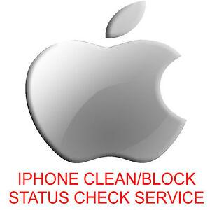 IPhone/iPad Samsung Sony LG HTC Clean/Blacklisted Barred/Unbarred Status Check