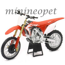NEW RAY 57873 2017 HONDA CRF 450R DIRT BIKE MOTORCYCLE 1/12 RED