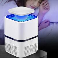 USB Mosquito Insect Killer Electric LED Light Fly Bug Catcher Trap Zapper B8T5