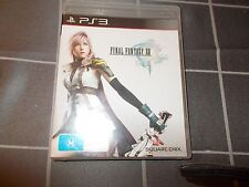 PS3 FINAL FANTASY XIII PAL game
