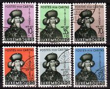 Luxemburg 315-20, O, Kinderhilfe 1938