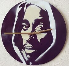 . TUPAC classic wall clock,..Beastie boys...biggie smalls... pop art,