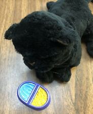 """Furreal Friends 7"""" Newborn Kitten Black Cat Hasbro Tiger 70058 Interactive 2003"""