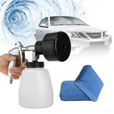Air Pulse High Pressure Car Cleaning Gun Surface Foam Care Tornado Tool + Sponge