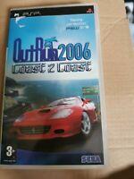 Outrun 2006 Coast 2 Coast Sony PSP PlayStation Portable Boxed PAL no manual