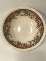 VINTAGE DEVONSHIRE SERVING BOWL JOHNSON BROS. ENGLAND  8 1/4''