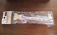 rare new Sanrio Nemukko Nyago pink pen and roller stamp 2000 Japan only