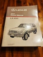1997 Lexus LX 450 Factory Service Repair Manual OEM