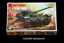 MATCHBOX 1/76 scale A-34 MK-1 COMET With Diorama Battle Display # PK-72 Sealed