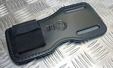 Genuine British Military / Police Black PWL Z91 Leather Grip Board Un-Issued
