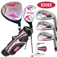 NEW JUNIOR GOLF SET 7 PCE for KIDS 6 to 10yrs WITH HYBRID and MATCHING GOLF BAG