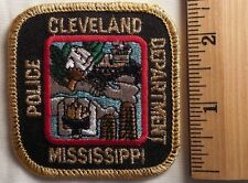 CLEVELAND MISSISSIPPI POLICE PATCH (HIGHWAY PATROL, SHERIFF, EMS)