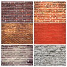 Brick Wall Vinyl Photography Backdrop Background Photo Studio Props Art Cloth
