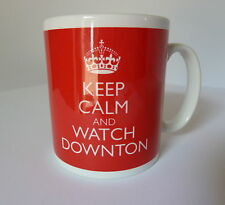 Downton Abbey Mug Cup Keep Calm In Carry On Style Any Colour Ideal Gift Present