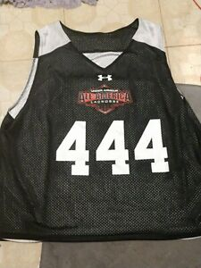 USED UNDER ARMOUR HIGH SCHOOL ALL AMERICAN TEAM ISSUED JERSEY PENNIE GR8 4 JOCK