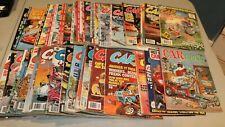 U PICK Car Toons Cartoons Magazine posters iron-ons 1967 -1980 1982  1988 June
