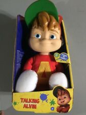 New Talking Alvin and the Chipmunks Fisher-Price Plush Doll w/box Kids Toy
