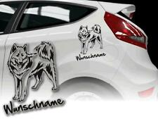 Car stickers dogs sticker Canadian Eskimo Dog Canadian Eskimo Dog