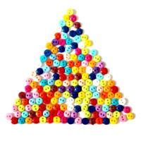 lot de 50 bouton mixtes 6mm 2 trous couture scrapbooking décoration bricolage