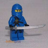 Lego Jay Ninja from sets 2259, 2263, 2506 + 2257 Ninjago Minifigure NEW njo004