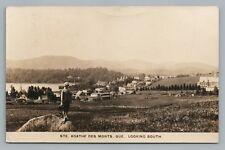 Sainte Agathe des Monts RPPC Quebec CPA Rare Antique Photo Child 1928