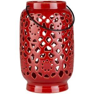 Avery Large Lantern by Surya, Terracotta - AVR927-L