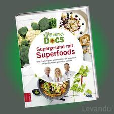 DIE ERNÄHRUNGS-DOCS - SUPERGESUND MIT SUPERFOODS | Die wichtigsten Lebensmittel