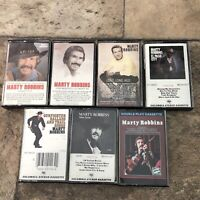 Lot Of 7 Marty Robbins Cassette Tapes Classic Country Music