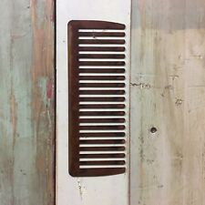 Signo de metal oxidado Grande barberos Peine Tienda Frente Casa Peluquería Tijeras de afeitar