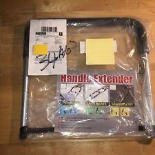 CART or STROLLER HANDLE EXTENDER w/ Foam Grip Make Stroller Handle Taller