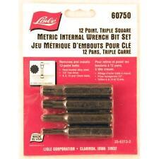 12 Point, Triple Square, Metric Internal Wrench Bit Set