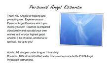 Personal Angel Essence